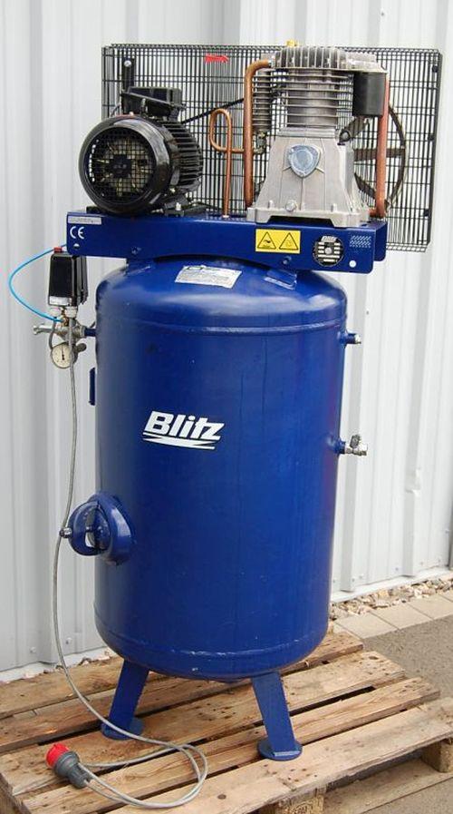 blitz 2 zylinder 14 bar werkstatt kompressor 250l beh lter. Black Bedroom Furniture Sets. Home Design Ideas
